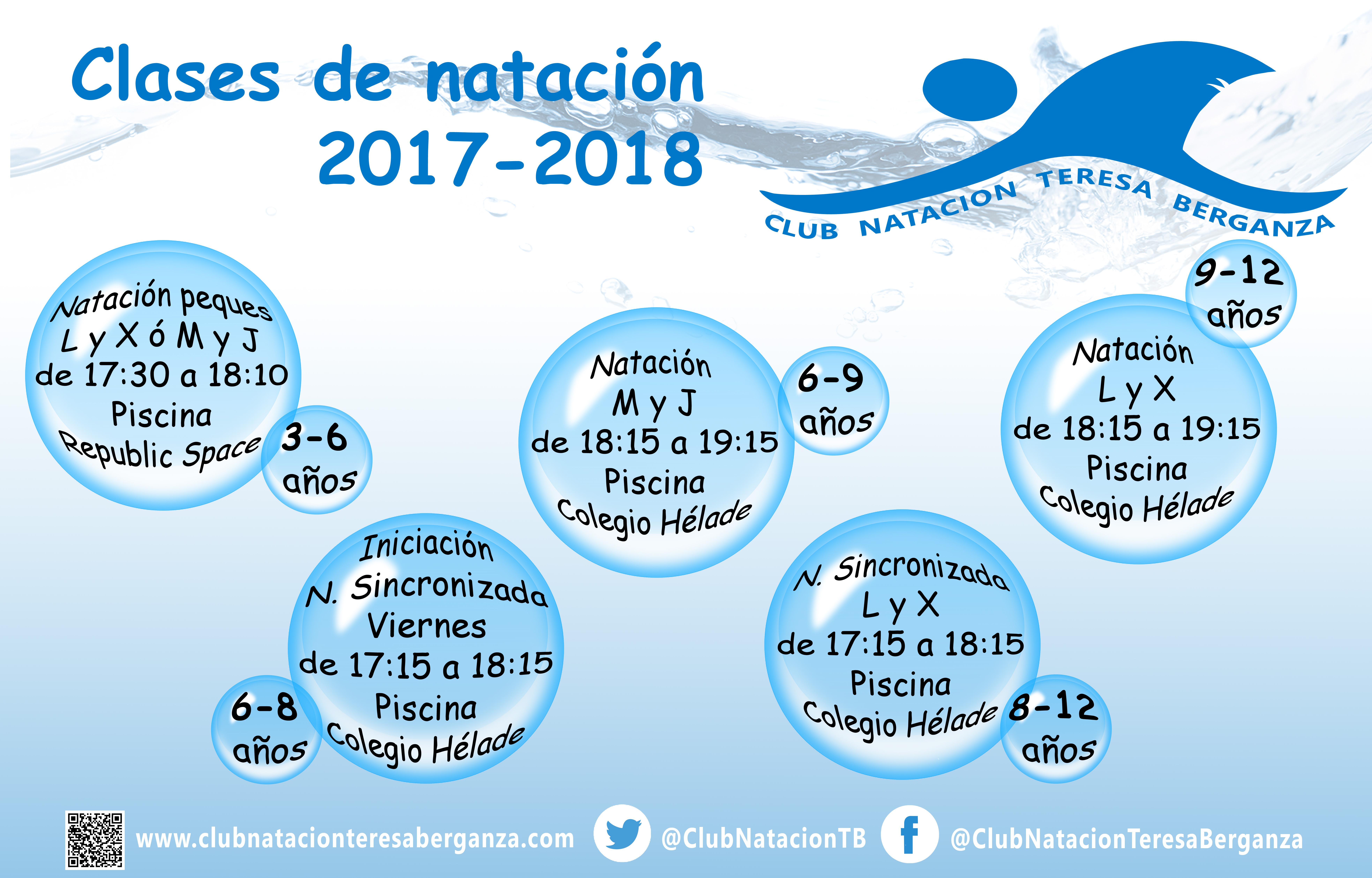 Ofertas Natación 2017-2018